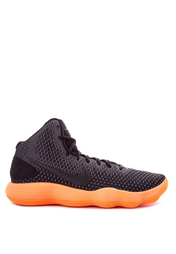 Nike black and orange and blue Men's Nike Hyperdunk 2017 Basketball Shoes NI126SH0K8CBPH_1