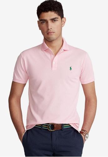 Polo Ralph Lauren 粉紅色 Piquet 棉 Polo 襯衫 B8D2CAA2C23A31GS_1