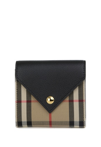 Burberry multi and beige Burberry Bifold Wallet 4B195ACC5974D6GS_1