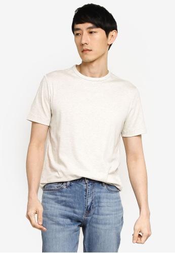 Banana Republic beige Luxury Touch Performance T-Shirt 2AD18AA020C3EEGS_1