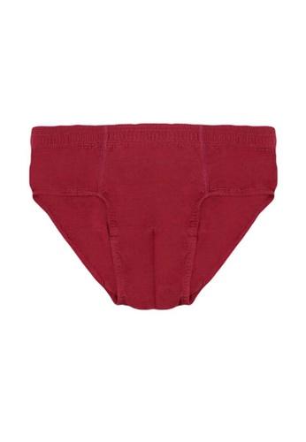 Biofresh red Antimicrobial Cotton Bikini Brief 1 pc BD194USCC91D27GS_1