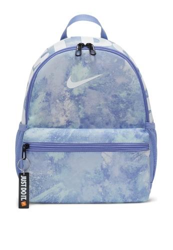Nike purple Brasilia Jdi Printed Mini Backpack AEABBKCE7F941EGS_1