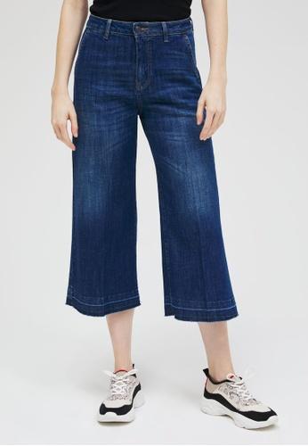 Sisley blue Saint Barth Cropped Jeans D5DB2AAE89CF6EGS_1