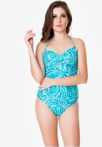 Naked Sun Swimwear blue Lyra Sweetheart Maillot NA317US0IZIMPH_1