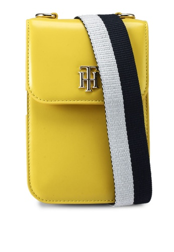 Tommy Hilfiger yellow Staple Mini Crossover Bag 6937BAC3F340A6GS_1