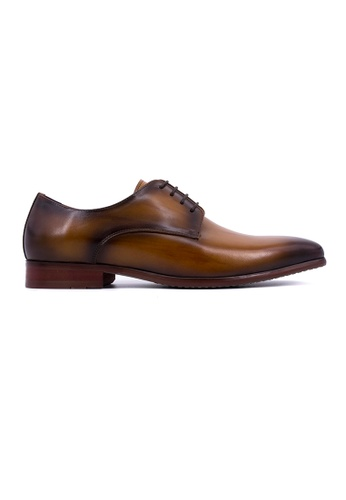 Rad Russel brown Rad Russel Lace Up Derby-Tan RA654SH0GHM3SG_1