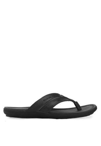 Homyped black Santiago Men Sandals HO842SH66CPPID_1