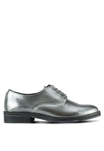 Guess grey Derby Sonya Shoes GU020SH0S7KTMY_1
