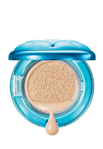 Physicians Formula beige Foundation : [Physicians Formula Official] Mineral Wear Talc-Free All-in-1 ABC Cushion Foundation SPF 50 - Light  (FREE x1 Angle Brow Brush) PH385BE54ANLMY_1