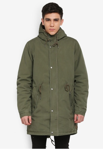 Cotton On green Military Jacket 00555AAE0726C3GS_1