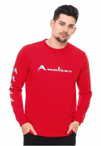 bloop red Bloop Tshirt Ls Syn Amateur 2 Red - BLP-RG001 83C84AA64272B7GS_1