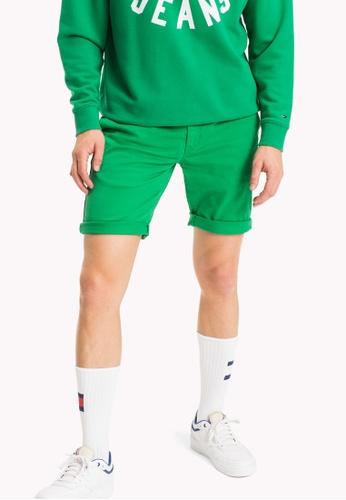 Tommy Jeans green TJM BASIC STRT SHORT FREDDY 11 C79E1AA0758224GS_1
