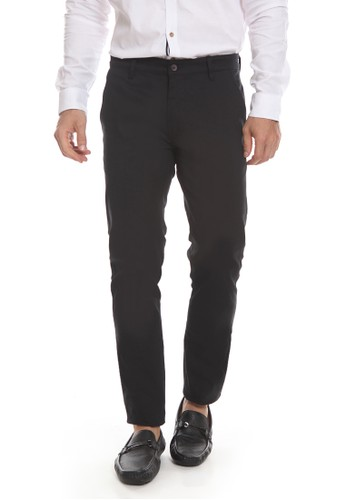 Manzone black VERNO-BEST BUY-BLACK PANTS BBE1CAAC7F8DE5GS_1