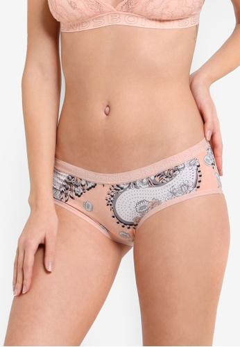 Bonds multi and beige Hipster Micro Boyleg Panties BO376US68ZGHMY_1