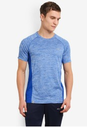 2GO 藍色 GO Dry Workout 短袖 T卹 2G729AA0S5ZTMY_1