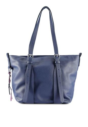 b4d1ed73613e Shop ESPRIT Faux Leather Tote Bag Online on ZALORA Philippines