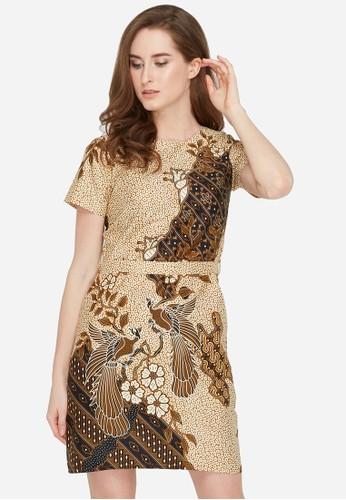 Jayashree Batik brown Dress Ranaya 4108EAA861286CGS_1