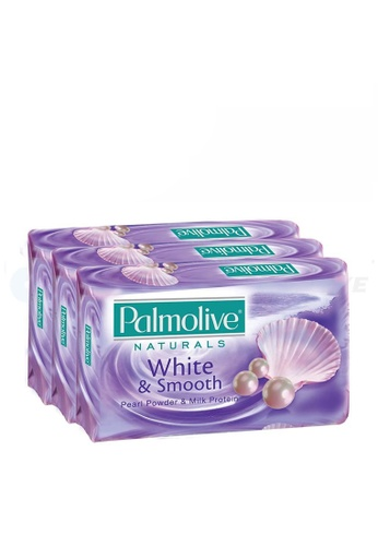 Palmolive Palmolive White & Smooth Bar Soap Valuepack 80g x 3 EF2A3BE9774068GS_1