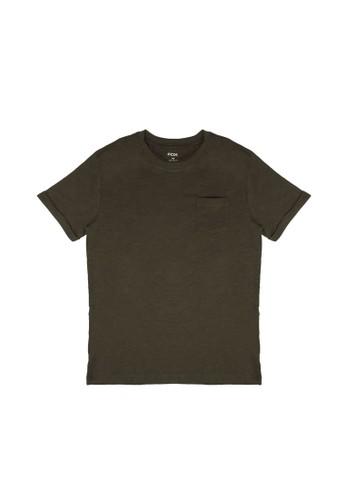 FOX Kids & Baby green Essential Pocket T-Shirt BCEF8KA1015DA5GS_1