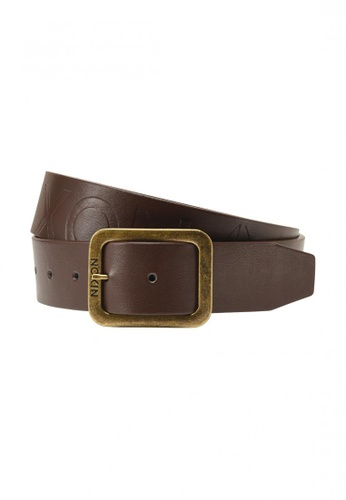 Nixon brown Nixon - Defacto Belt II - Chestnut Brown NI855AC55KPGSG_1
