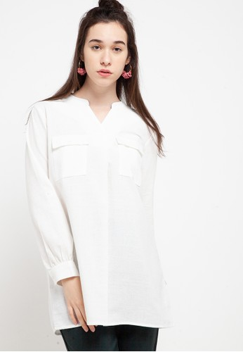 RODEO white Regina Blouse 1D95CAAACD697CGS_1