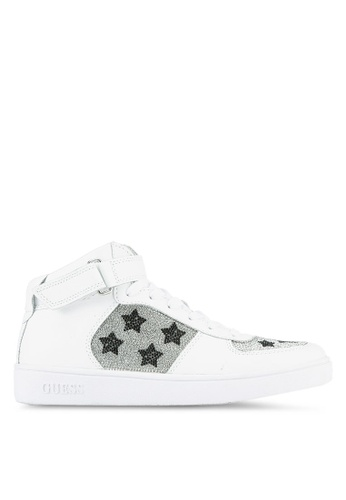 Guess white Suzy Star Sneakers GU020SH0S7KWMY_1