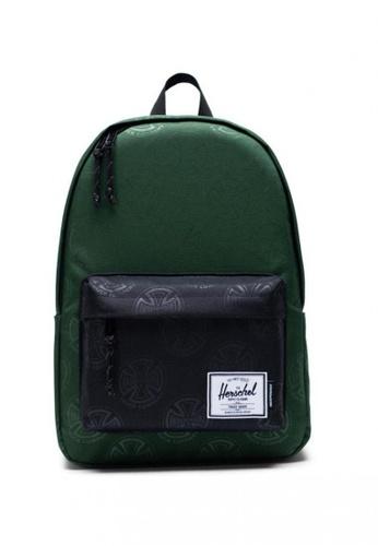 Herschel green Classic X-Large Backpack D78A0AC7509976GS_1