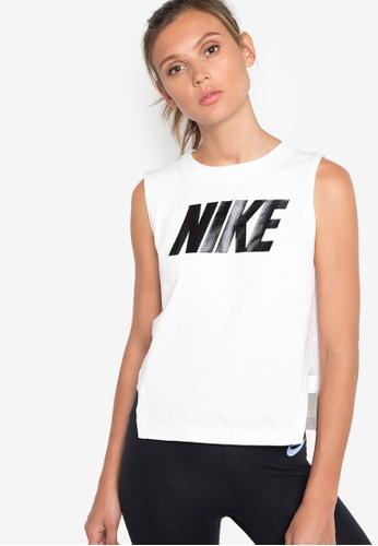 Nike white Women's Nike Sportswear Advance 15 Tank Top NI126AA99JAUMY_1