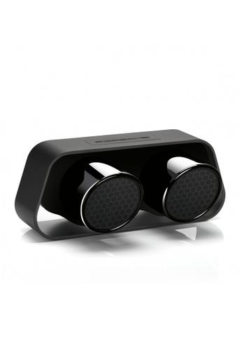 Porsche Design black Black Bluetooth Speaker Porsche 911 GT3 Sports Car Exhaust. 81CD0ES6F8E461GS_1