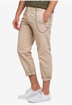 f26c4be1c60 Topman beige Stone Twill Original Pants 53F9BAAF00D8CEGS_1