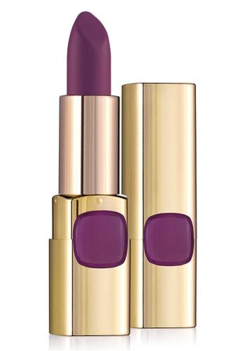 L'Oréal Paris purple L'oreal Paris Color Riche Le Rouge 607 Fearless Cerise 255E7BE0C265DFGS_1