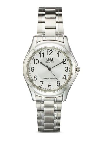 Q207J20esprit台灣outlet4Y 數字圓框鍊錶, 錶類, 飾品配件