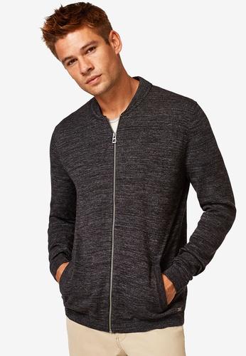 ESPRIT 黑色 長袖罩衫 739E3AA9BAAFF9GS_1