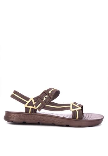 H2Ocean brown Abell Sandals BF3CBSHC63A3A0GS_1