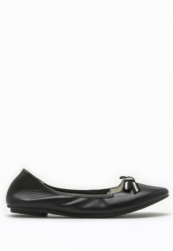 PAZZION black Nautical Bow Front Flats FCBD1SH2DE3D7DGS_1