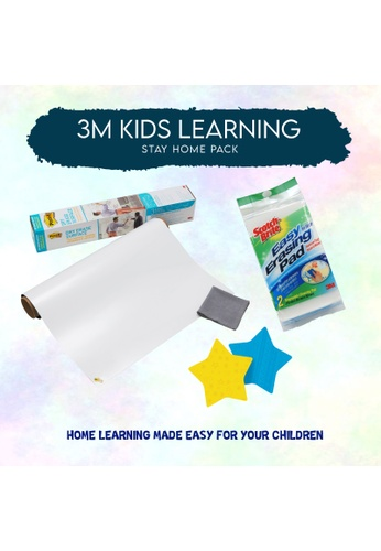 3M [Stay Home Essential] 3M Kids Learning Stay Home Pack 6A2AFHL402857FGS_1