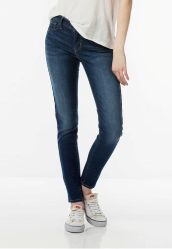 Levi's blue 710 Super Skinny Jeans LE843AA0F0PQSG_1