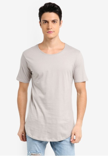 Factorie brown The Curved Tall Tee 1A469AA764E72AGS_1