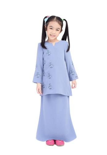D'YANA blue BAJU KURUNG D'YANA - RESSA (KIDS) 5B9EFKAF0CE521GS_1