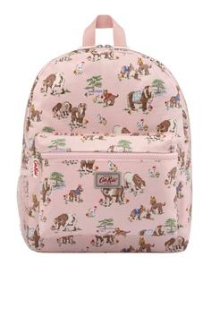 bcc58ba6f0 Cath Kidston pink Shetland Ponies Mini Padded Rucksack With Mesh Pocket  7BA72AC610AF5DGS_1