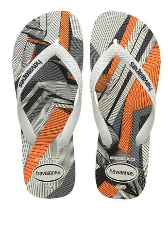 Havaianas white and multi Trend Flip Flops 8C9EASH10EBA29GS_1