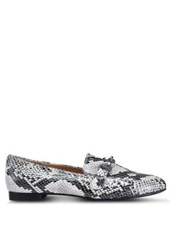 Miss Selfridge grey Fancy Trim Loafers 6FCEFSHE033B37GS_1