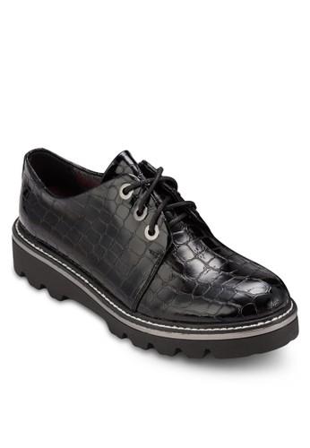 漆皮繫帶厚底鞋、 女鞋、 鞋BETSY漆皮繫帶厚底鞋最新折價