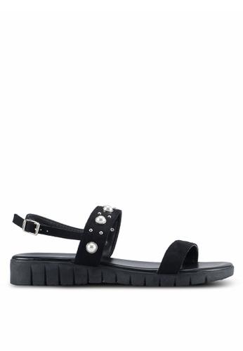 Bata black Jojo Sandals B9421SHABA601DGS_1