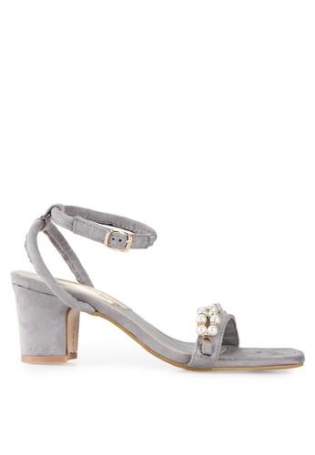 Mandy's grey Astrid Grey Heels MA947SH64DYHID_1