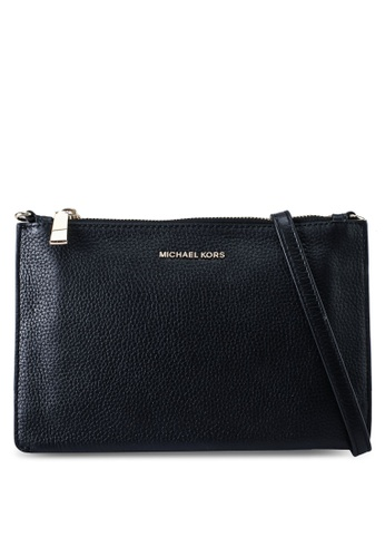 MICHAEL KORS black L Double Pouch Crossbody Bag (zt) 50696ACE88CD77GS_1