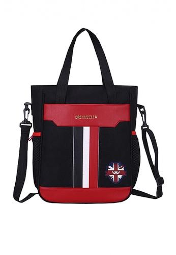 Twenty Eight Shoes black VANSA Pu Nylon Hand Bags VAK-LbBX6 6743FKCE9E0488GS_1