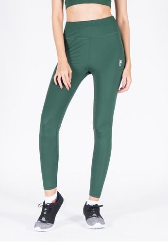 AMNIG green Amnig Women Active High Waist Legging (Dark Green) DC8C5AA66A1E36GS_1
