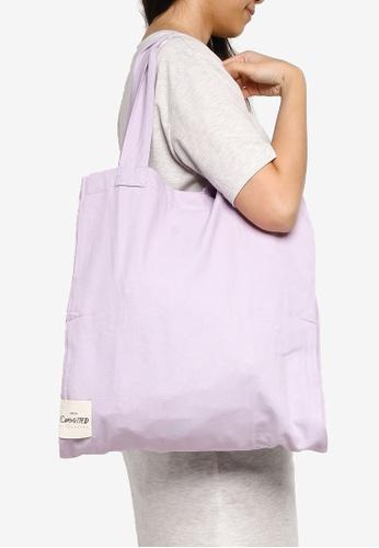 Mango purple Organic Cotton Bag 6FF5DAC86C551CGS_1