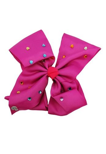 Jojo Siwa pink Jojo Siwa Bow With Clip (Pink Rhinestone) ACF5CKCA8DC4D7GS_1